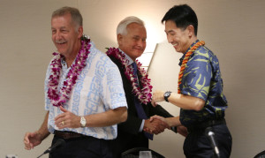 As Caldwell And Djou Sharpen Attacks, Carlisle Goes For Laughs