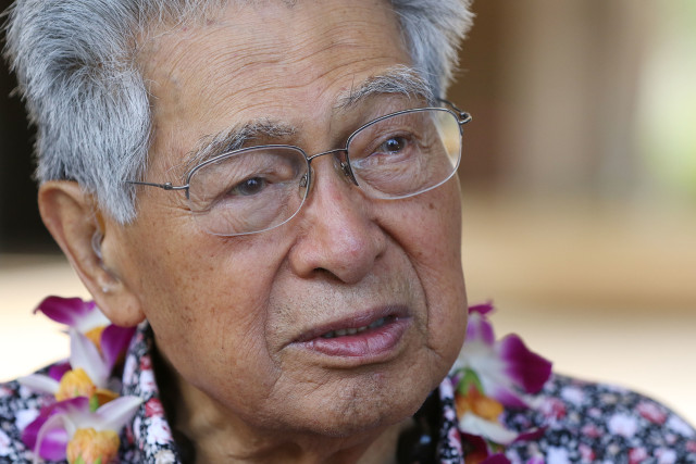 Senator Dan Akaka Fishing Means Food Rally1. 26 july 2016