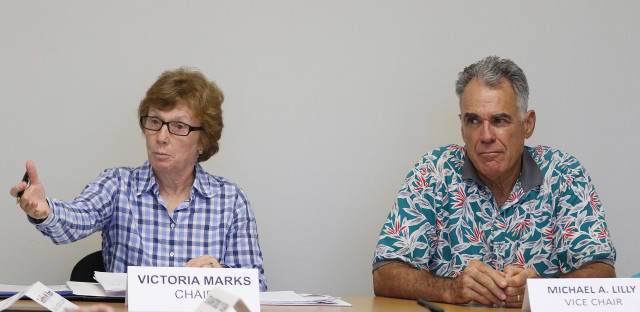City Ethics Commission Chair Victoria Marks Vice Chair Michael Lilly. 9 aug 2016