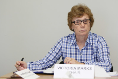 City Ethics chair Victoria Marks. 9 aug 2016