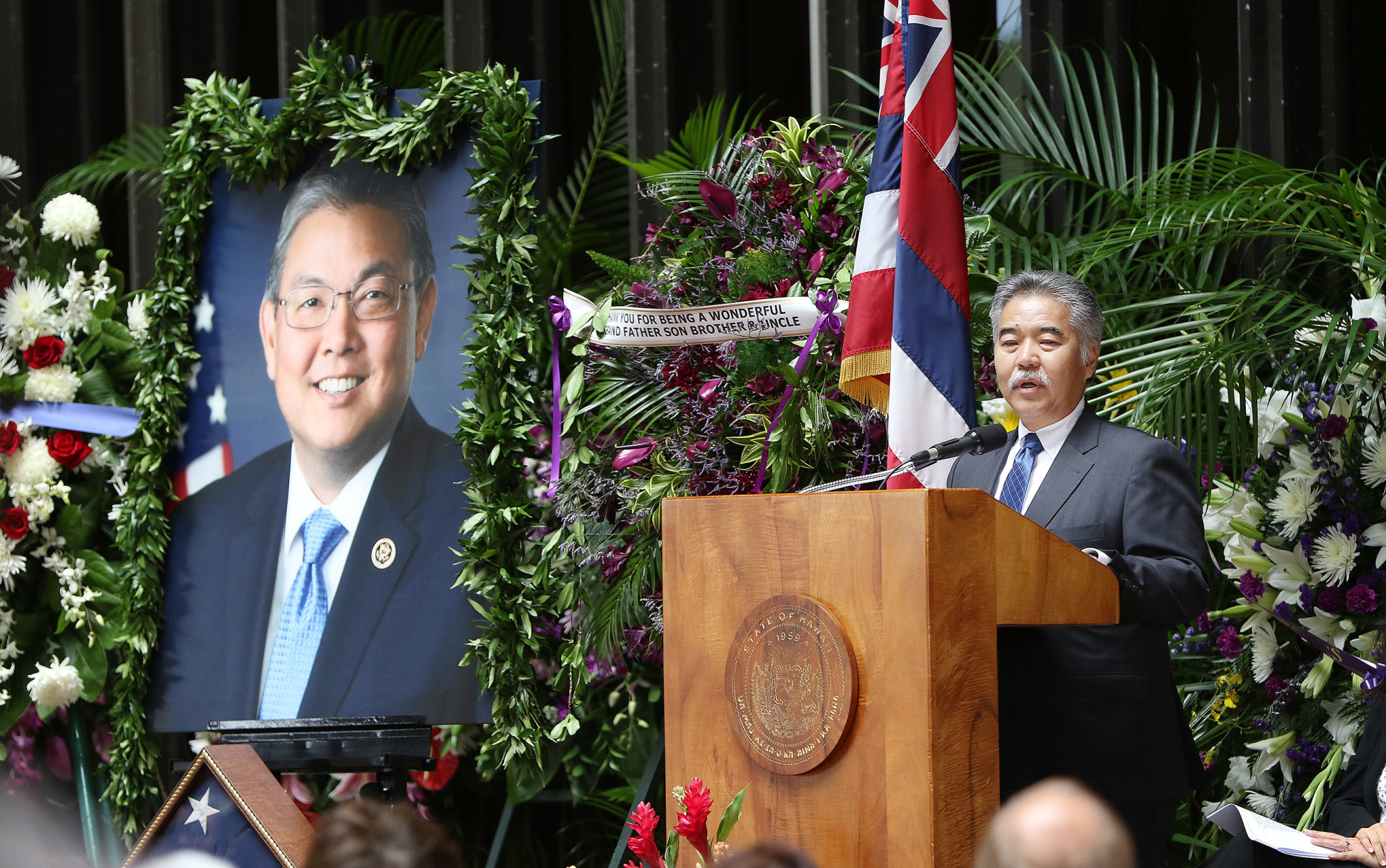 "<p>Gov. David Ige recounted his friendship with Takai. ""It's so difficult for me to accept he is no longer with us. I have truly lost a dear friend and colleague.""</p>"
