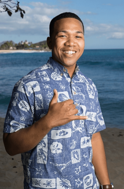 Democratic candidate Cedric Gates ran against Rep. Jo Jordan to represent Waianae.