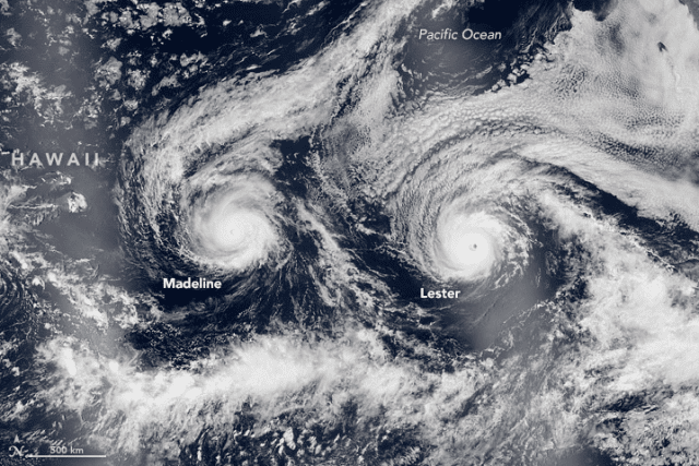 More frequent tropical storms and hurricanes are alarming for Hawaii.