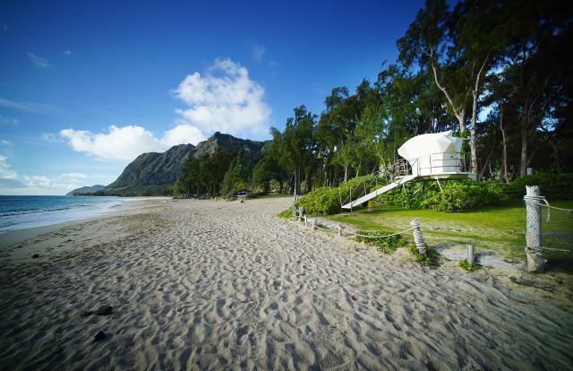 Waimanalo Beach Park. 30 july 2016