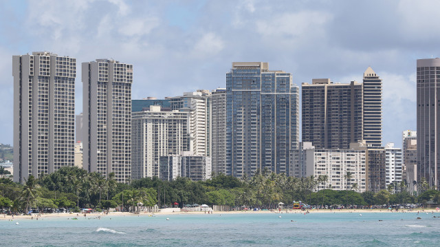 Another sunny day in Honolulu.