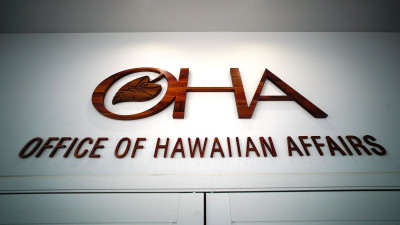 OHA Office of Hawaiian Affairs office. 6 sept 2016