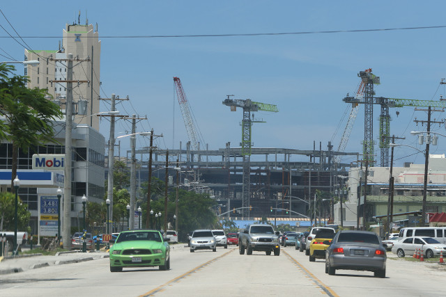 Saipan Middle Road Garapan future casino1. 24 aug 2016