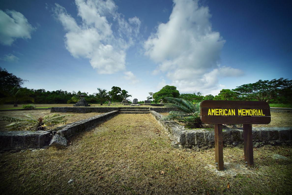 Tinian American Memorial Marianas. 28 aug 2016