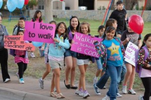 Candidates Invited To Put Signs Down And Walk to School