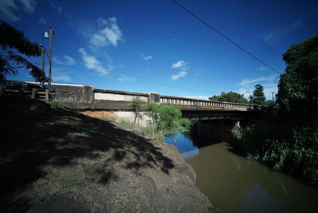 1940 Kaukonahua Bridge in Wailua. 3 oct 2016