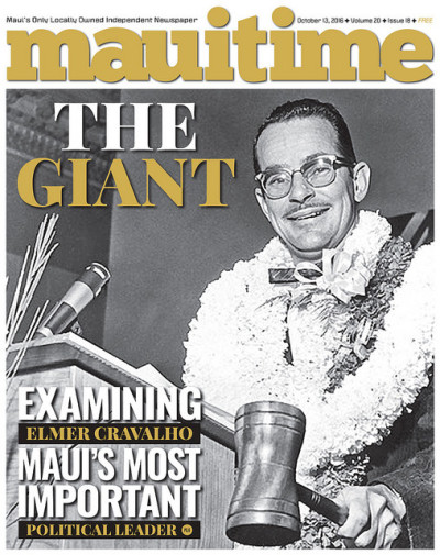 The current cover of Maui Time.