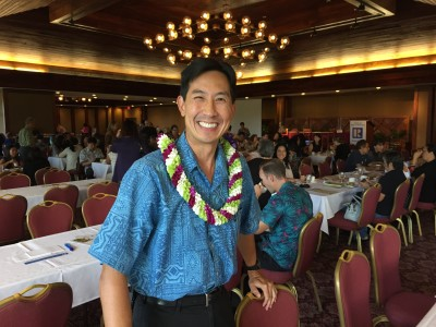 Djou is trying to unseat the incumbent Caldwell by asking them Honolulu is doing better than it was four years ago.