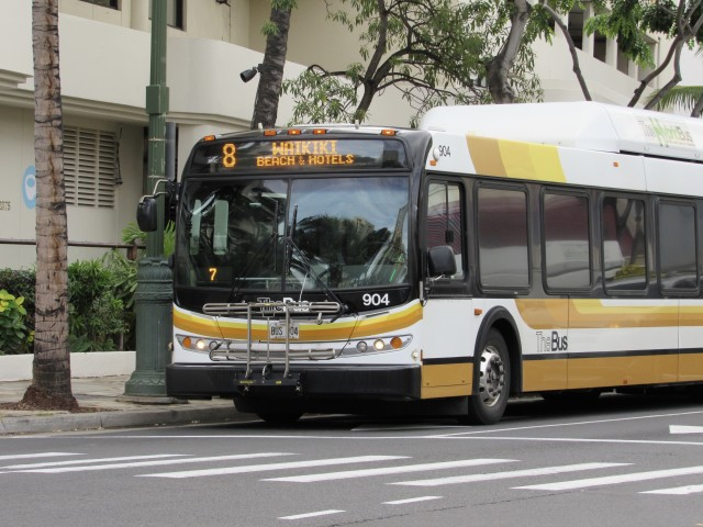 Route 8 would be replaced by the Waikiki Circulator.