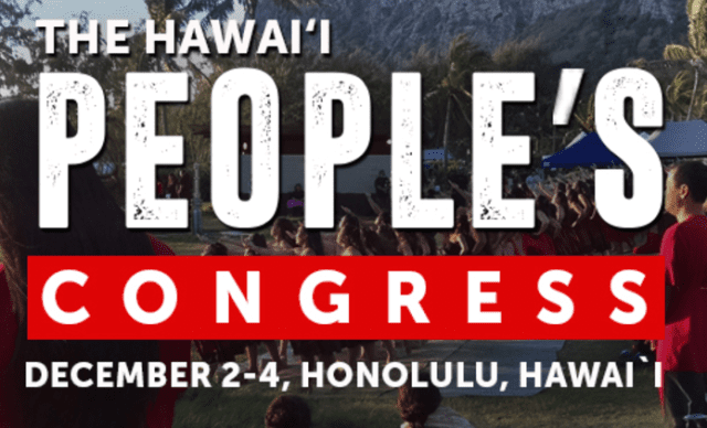 Hawaii People's Congress logo