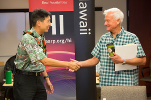 VIDEO: AARP Tele-Town Hall with Kirk Caldwell and Charles Djou