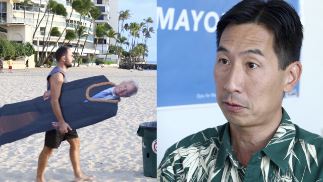 3 Questions For Kirk Caldwell and Charles Djou