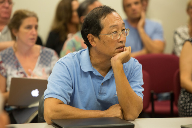 Alton Miyasaka of the Division of Aquatic Resources questioned if his agency had the authority to request crew members' contracts as part of the licensing process.