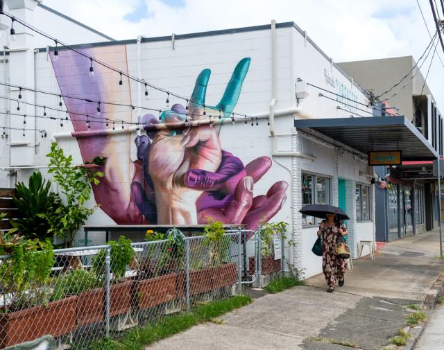 Kaimuki Superette mural