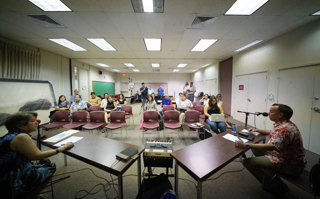 Board of Education mtg Farrington HS1. 2 nov 2016