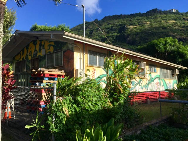 The Hale, run by the Honolulu Community Action program, is used for STEM activities and computer work.