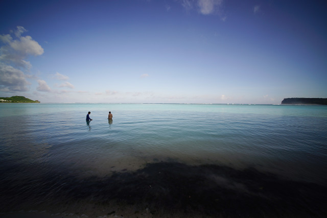 Guam Tumon Bay Marianas. 20 aug 2016