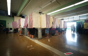 Hawaii's General Election Turnout Dipped To 58.3 Percent This Year