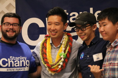 Chang Tops Slom In Race To Unseat Hawaii's Only GOP Senator