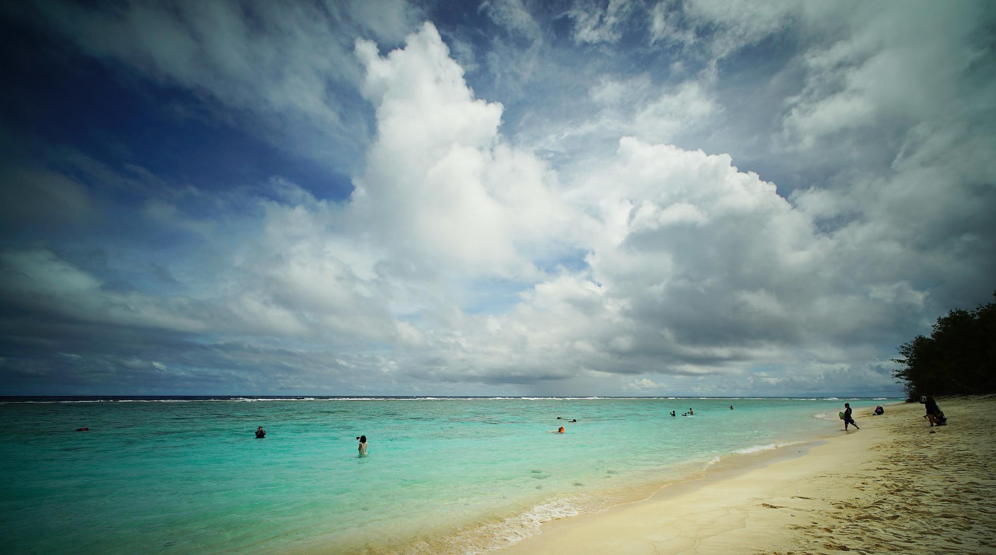Marianas Ritidian Beach guam. 22 aug 2016