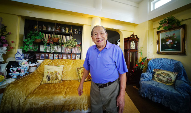 Vicente N. Santos from Saipan and was involved in Covenant negotiations of the Marianas. 25 aug 20126