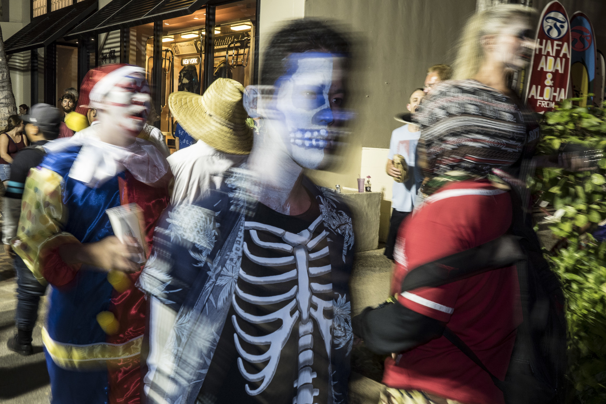 <p>Some folks were moving faster than others along the boulevard during the annual celebration Monday.</p>