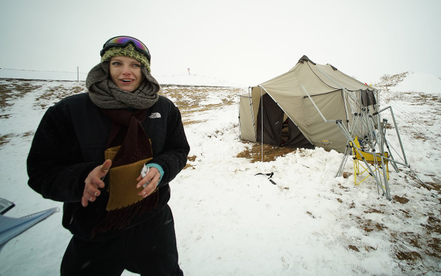 Ashlar McNeil Haiku Maui Oceti Sakowin Camp. N. Dakota. 1 dec 2016