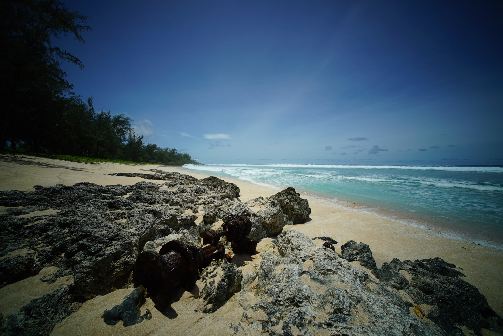 The military wants to use a beach called Unai Chulu for amphibious landing practice, which would destroy over 10 acres of coral reef.