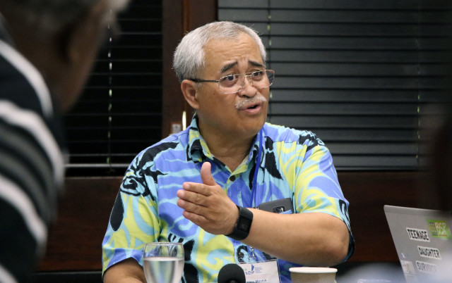 Pacific Islands Forum Fisheries Agency Director-General James Movick