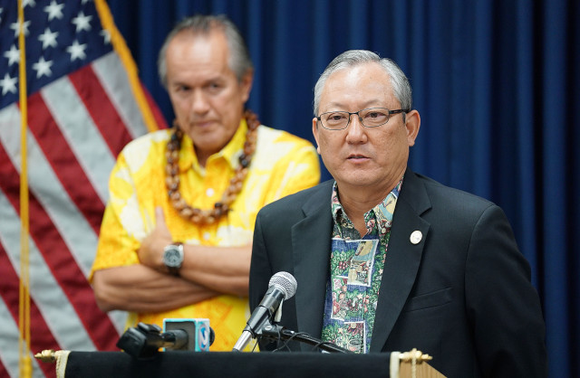 HPD Chief Kealoha Acting Mayor Roy Amemiya2. 20 dec 2016