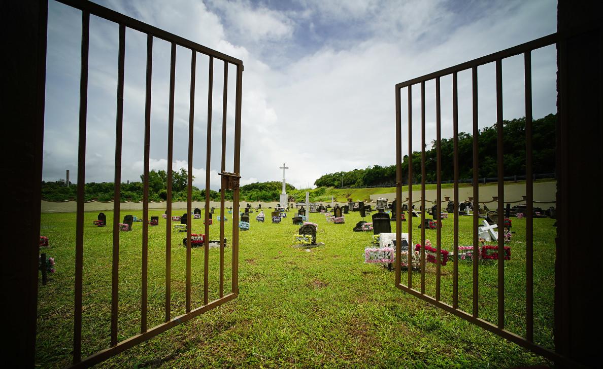 Marianas Guam Naval Base graveyard. 22 aug 2016