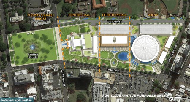 The Blaisdell complex, renovation plan