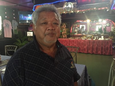 David Mendiola Cing is a former senator who opposed giving up two-thirds of Tinian in the 1970s.