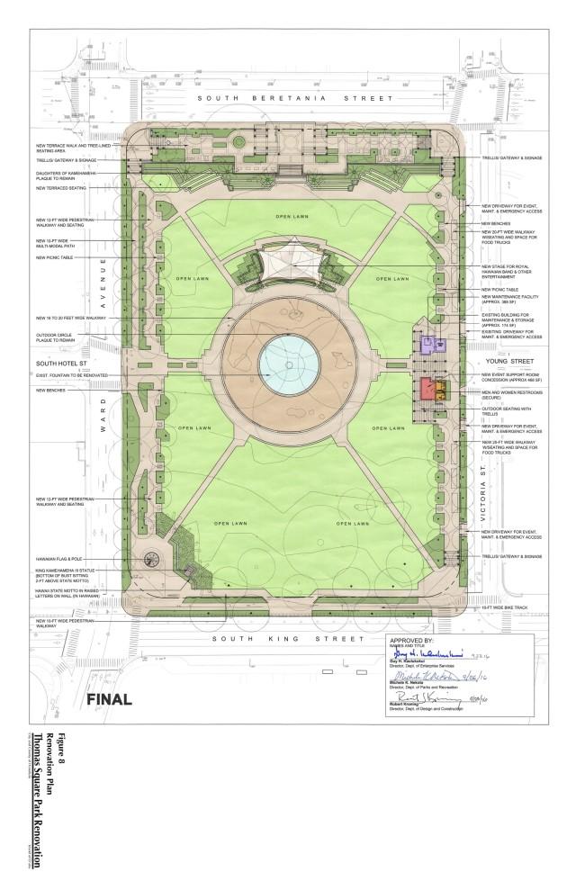 Thomas Square draft environmental assessment map