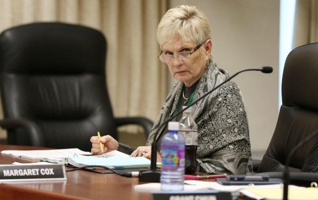 Board of Education Margaret Cox. 10 jan 2017