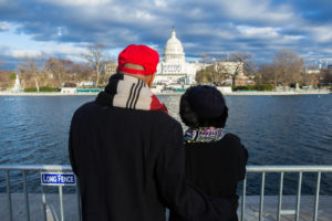 Hawaii Residents Journey To DC For Very Different Reasons