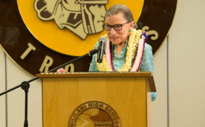 Hawaii Mourns The Death Of Justice Ruth Bader Ginsburg