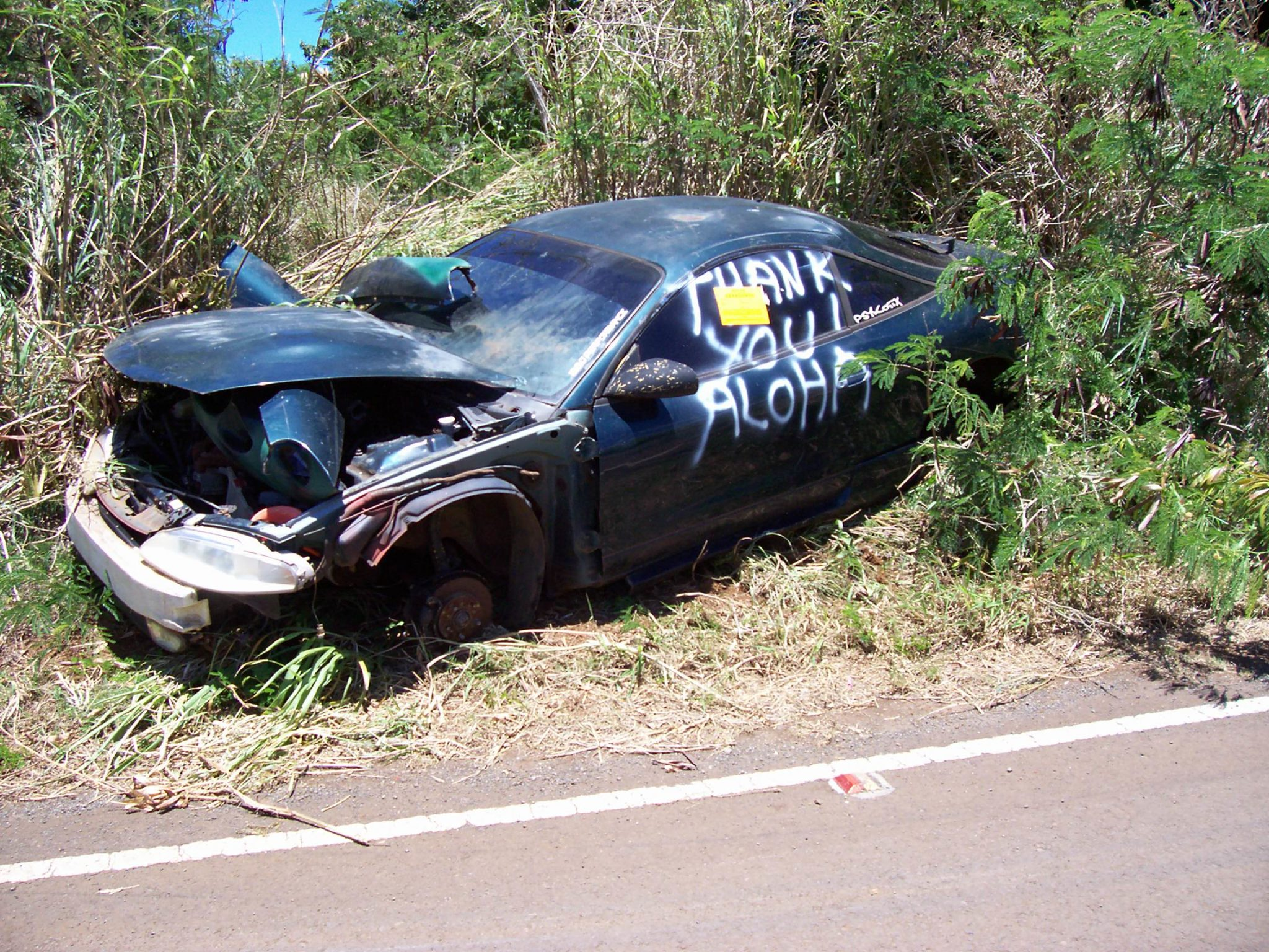 Tad Bartimus: The Hana Highway Has Become A Vehicle Dumping