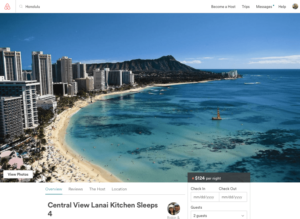 Airbnb Crackdown Does Not Deter Oahu Visitors