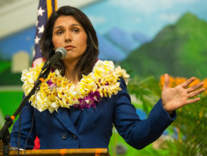 CNN Gives Gabbard The Cold Shoulder In New Hampshire