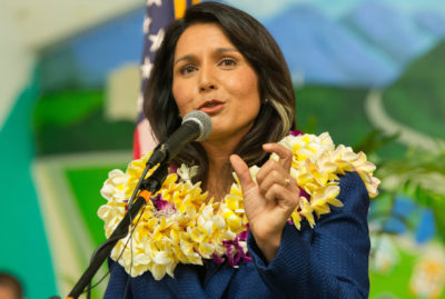 Another Presidential Primary, Another Last Place Finish For Tulsi Gabbard