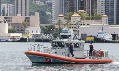 Coast Guard Responding To Cargo Ship Oil Spill In Honolulu Harbor
