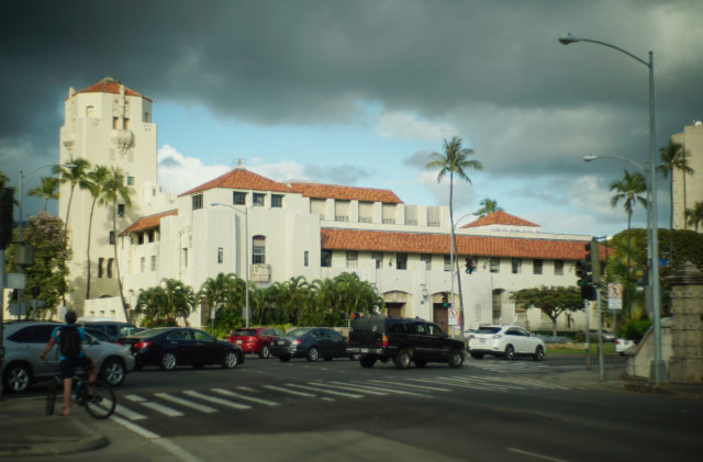 Honolulu Hale building. 27 april 2017