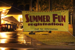 Parents Camp Overnight To Get Their Kids In Summer Fun Program