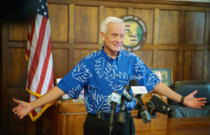 Civil Beat Poll: Caldwell Is As Unpopular As Trump In Hawaii