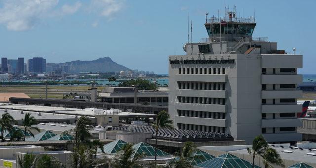 Daniel K Inouye International Airport. 5 june 2017